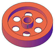 tutorial autocad autodesk 3d video tutorial create a 3d wheel with cylinders autocad