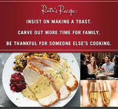 thanksgiving dinner ruth chris bootsforcheaper