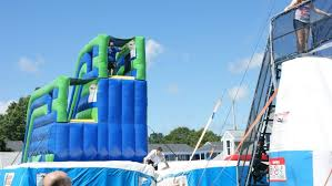 Challenge Filled With Water Obstacle Course Challenge Zone Cape Cod