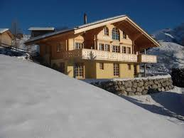 3 storey chalet with fireplace terrace balcony and panoramic