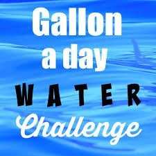 Challenge With Water The Gallon A Day Water Challenge With Prizes Happy Healthy