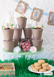 rabbit party rabbit inspired easter party ideas atta girl says
