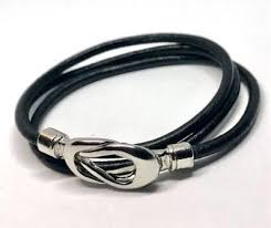 leather bracelet knots images Dainty wrist jewelry for skinny arms twisted knot triple jpg