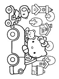 17 dessins de coloriage hello kitty a colorier à imprimer