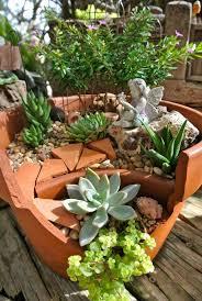 Garden Diy Crafts - diy broken pot fairy garden ideas 4 diy crafts you u0026 home design