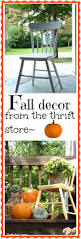 Fall Outdoor Decorations by Fall Decorating Outdoors Chair Makeover Outdoors And Decorating