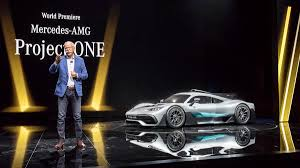world premiere mercedes amg project one hypercar debut in frankfurt