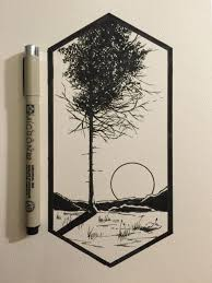 the 25 best black pen drawing ideas on pinterest drawing with