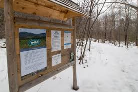 Boston Lot Lake Trail Map by 1 Minute Hike Long Cove Headwaters Preserve In Searsport Act