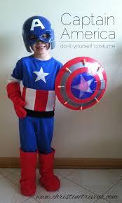 Captain America Halloween Costumes Captain America Costume Tutorial Kbn Halloween Kids