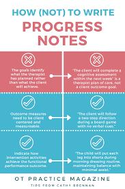 how not to write progress notes documentation pitfalls aota