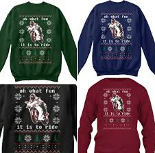 christmas jumper the ultimate motorcyclist s christmas ju visordown
