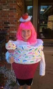 Cupcake Halloween Costumes Pink Cupcake Toddler Costume Sprinkles Cherry