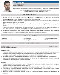 marketing manager resume marketing manager cv format marketing manager resume sle and