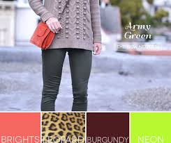 army green the new neutral