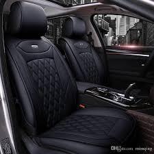 honda car cover lunda luxury pu leather auto car seat covers universal seat covers