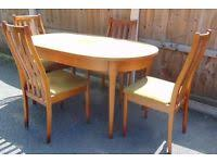retro dining table in leeds west yorkshire dining tables