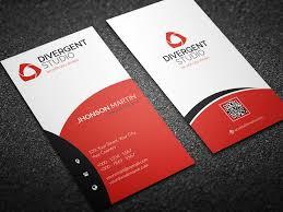 vertical photographer business card business card templates
