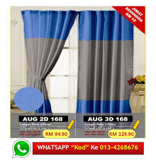 Jml Door Curtain by Door Curtain Price Harga In Malaysia Lelong