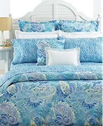 Paisley King Duvet Cover Amazon Com Lauren By Ralph Lauren Bedding Jamaica Blue Paisley