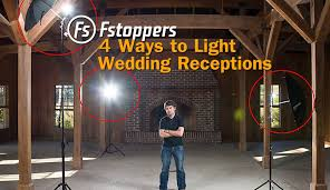 best strobe lights for photography fstoppers tutorial how to light wedding reception venues for