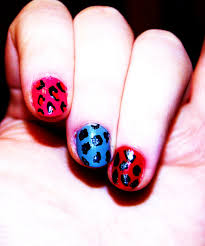 easy do it yourself leopard print nails without nail art utensils