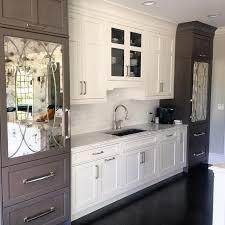 Kitchen Cabinet Refrigerator White Paneled Refrigerator Design Ideas