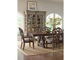 dining room table extensions thomasville casa veneto stella trestle dining table with table