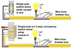 how to wire motion sensor occupancy sensors with photocell switch