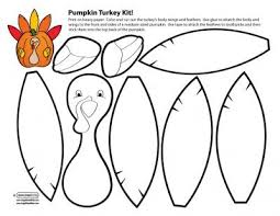 printable turkey cutout thanksgiving activities cut out thanksgiving blessings