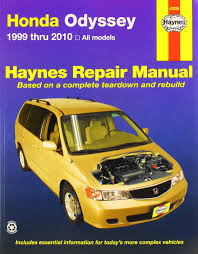 haynes 42035 honda odyssey 0038345420351 amazon com books