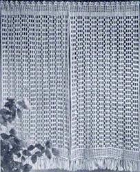 Crochet Valance Curtains Crochet Pattern Central Free Window Accent Crochet Pattern Link