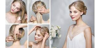 diy wedding hair easy diy wedding hairstyles hair do it your self