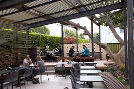 Restaurant Patio Design by Rose Cafe In Venice Gets A Face Lift By Dex Design Studio L A