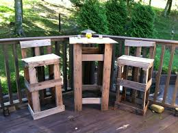 Pallet Patio Furniture Pinterest - pallet bar table u0026 chairs completed projects pinterest pallets
