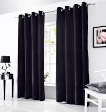 Curtains Ring Top Velvet Eyelet Lined Curtains Ready Made Ringtop Curtain Pairs Ebay