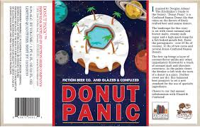 donut panic beer release from fiction beer company craftbeer com