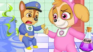video for kids youtube kidsfuntv paw patrol full episodes pups save chase u0026 skye scramble the