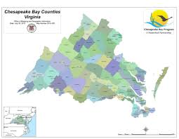 Va County Map Virginia Counties In The Chesapeake Bay Watershed Map Numb U2026 Flickr