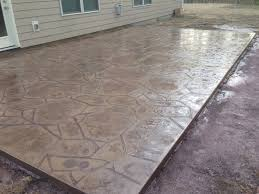 Flagstone Stamped Concrete Pictures by Metro Concrete Construction Services Inc Mooresville Nc