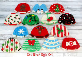 sweater cookies the partiologist sweater cookies