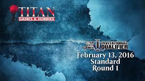 Mtg Invitational Cards Scg Invitational Qualifier Standard Round 1 2 13 2016 Youtube