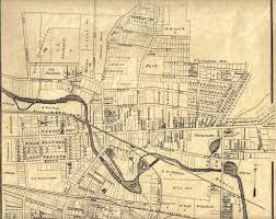 Erie Pennsylvania Map by 1876 Union City Plat Map