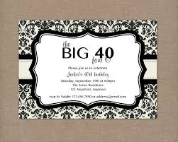 top 13 40th birthday party invitation wording theruntime com