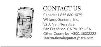 Pottery Barn Kids International Shipping International Orders Pottery Barn