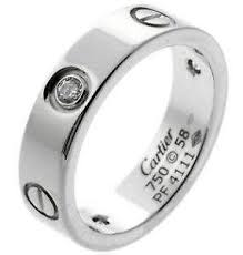 Cartier Wedding Rings by Cartier Love Ring Ebay