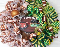 Decorative Longhorns Longhorns Wreath Etsy