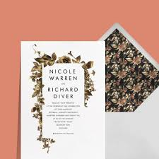 Wedding Invitation Paper Online Invitations And Cards Custom Paper Designs Paperless Post