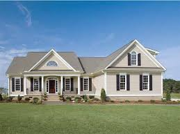 one story farmhouse one story country house plans interior design