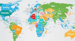 world map how see the world based on searches map daily